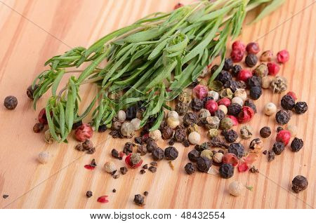 Thyme With Peppercorn