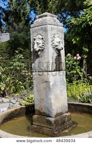Lion Head Fountain