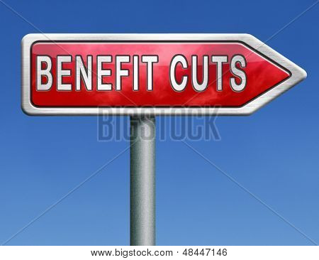benefit cuts tax cut on housing child and social works reduce spending