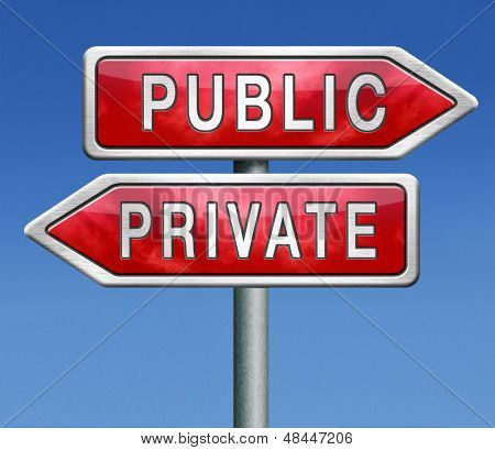 private or public insurance hospital school or domain