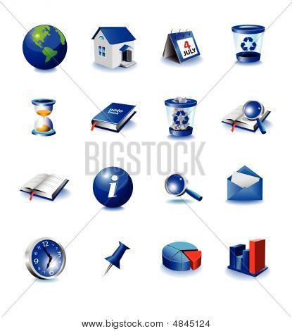 Blue Design Icons