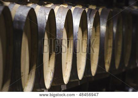 Detail For Wine Barrels
