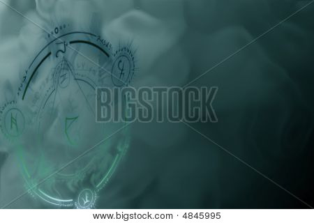Mystisches Symbol