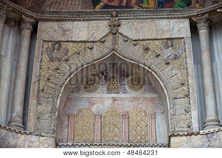 Venice - main entrance to St Mark's basilica