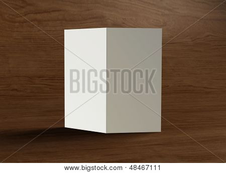 Leaflet Inside Presentation Wood