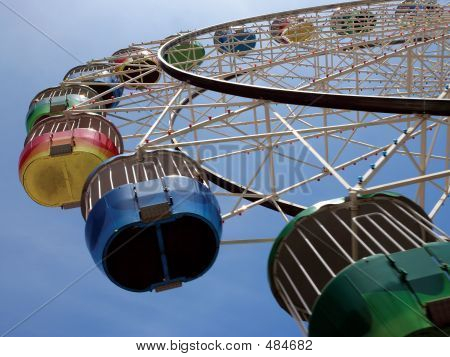 Colourful Ferris Wheel