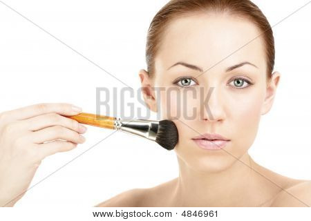 The Woman With A Brush