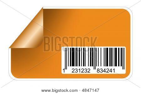 Aufkleber mit Barcodes