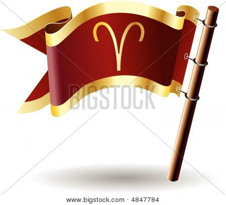 Royal-flag-astrology-sign-aries