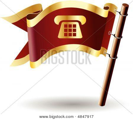 Royal-flag-phone-call