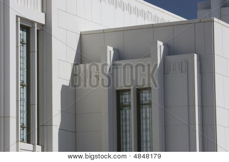 Close-up Of Mormon Temple