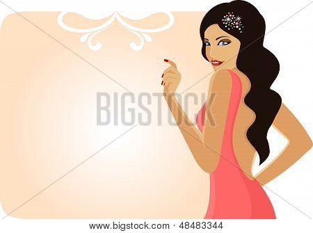 Garota glamourosa