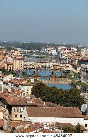 Ponte Vecchio FlorenceTuscany Italy