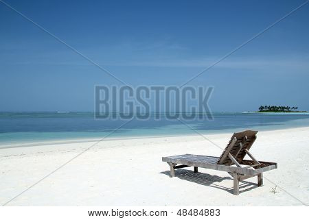 Deckchair on Beach
