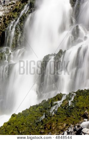 Waterfall At Thousand Springs, Idaho - More In Portfolio
