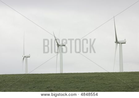 Three Wind Turbines - More In Portfolio
