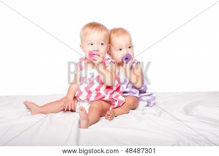 Pacifier Twins