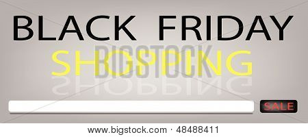 Black Friday Sale Banner For Special Price Products