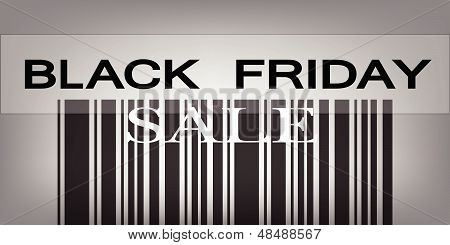 Black Friday Barcode For Special Price Products