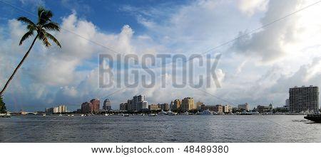 Palm Beach Panorama