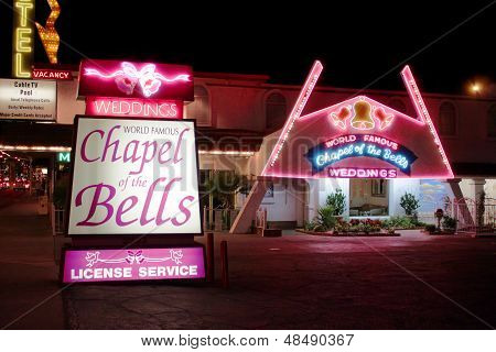 Chapel Of The Bells Las Vegas
