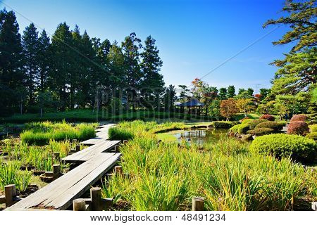 Gardens in Japan.