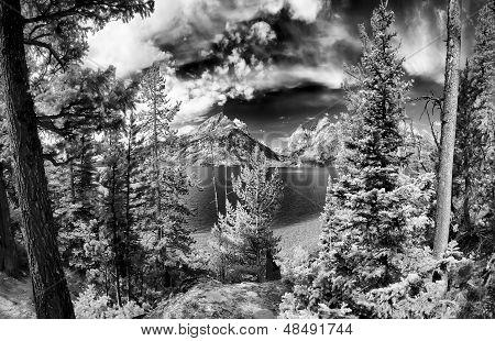 Jenny Lake Panorama