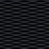 picture of wavy  - Black seamless texture - JPG