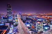 stock photo of seoul south korea  - Gangnam District - JPG