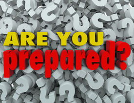 pic of quiz  - The question Are You Prepared - JPG
