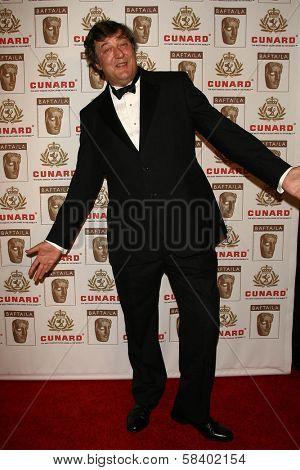 LOS ANGELES - NOVEMBER 2: Stephen Fry at the 2005 BAFTA/LA Cunard Britannia Awards at Hyatt Regency Century Plaza Hotel on November 2, 2006 in Century City, CA.