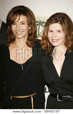 LOS ANGELES - NOVEMBER 09: Mary Steenburgen and Annett Wolf at the 2006 Partners Award Gala presented by Oceana at Esquire House November 09, 2006 in Los Angeles, CA.