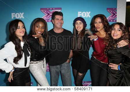 Simon Cowell, Fifth Harmony at the