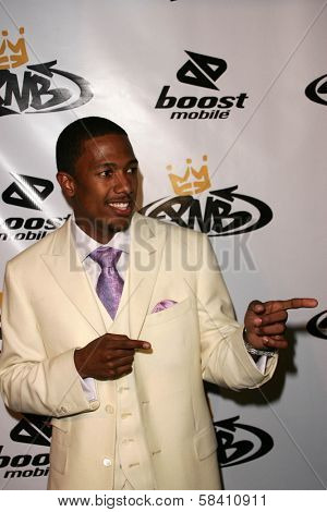 LOS ANGELES - OCTOBER 10: Nick Cannon at the birthday party for Nick Cannon and the opening of his flagship store for PNB Nation on October 10, 2006 at PNB Nation Store, Los Angeles, CA.