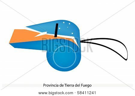 A Whistle Of Provincia De Tierra Del Fuego