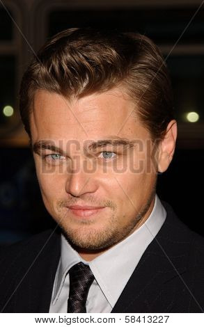 HOLLYWOOD - DECEMBER 06: Leonardo DiCaprio at the premiere of