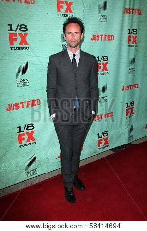 Walton Goggins at the Premiere Screening of FX's