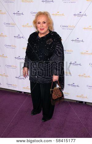 Doris Roberts at the Hallmark Channel and Hallmark Movie Channel Winter 2013 TCA Gala, Huntington Library and Gardens, San Marino, CA 01-04-13