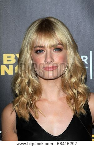 Beth Behrs at the