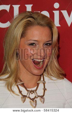 Katherine LaNasa at NBC Universal's