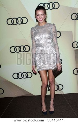 Katie Cassidy at the Audi Golden Globe 2013 Kick Off Cocktail Party, Cecconi's, West Hollywood, CA 01-06-13