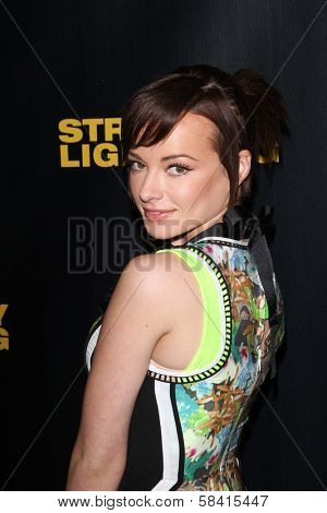 Ashley Rickards at the