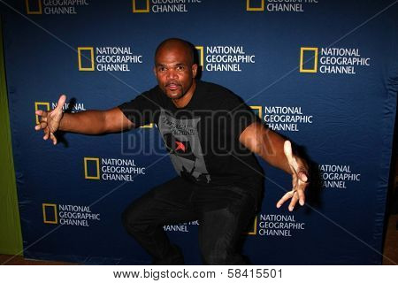 DMC at the National Geographic Channels'  2013 Winter TCA Cocktail Party, Langham Huntington Hotel, Pasadena, CA 01-03-13