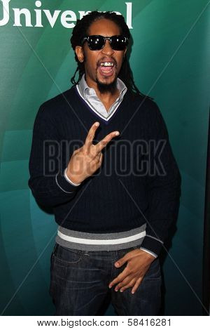 Lil' Jon at NBC Universal's