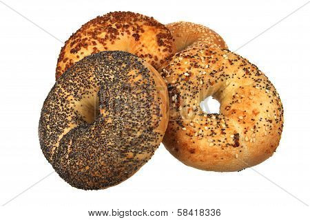 Four Mixed Bagel