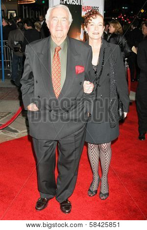 WESTWOOD, CA - DECEMBER 07: James Karen and Alba Francesca at the premiere of