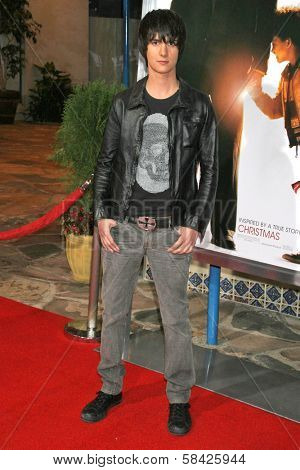 WESTWOOD, CA - DECEMBER 07: Chad Rogers at the premiere of