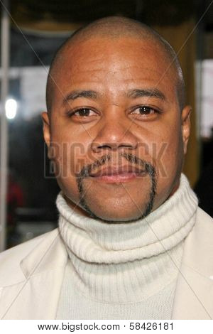 WESTWOOD, CA - DECEMBER 07: Cuba Gooding Jr. at the premiere of