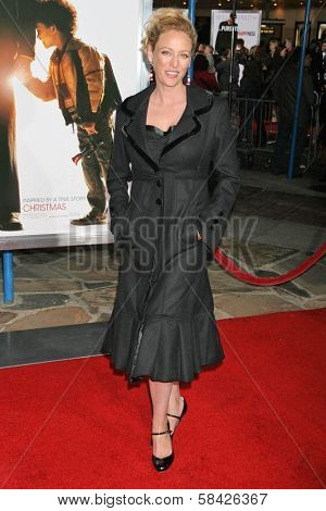 WESTWOOD, CA - DECEMBER 07: Virginia Madsen at the premiere of