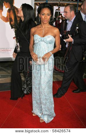 WESTWOOD, CA - DECEMBER 07: Jada Pinkett Smith at the premiere of